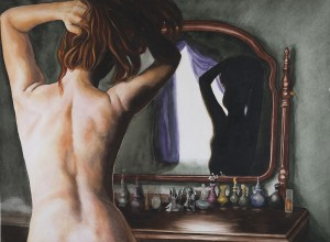 Morning at the Mirror
